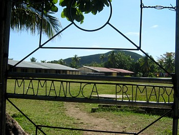 Mamanuca Primary School on Yanuya Island