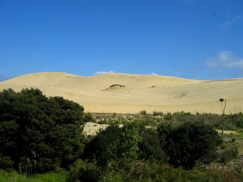The sand dunes!
